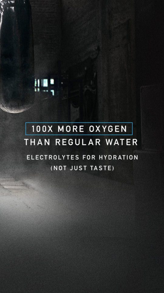 OXIGEN Power To Campaign