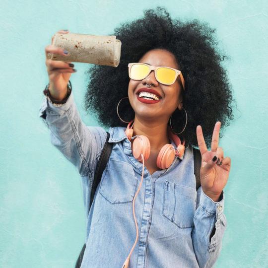 Qdoba Social Selfie Day
