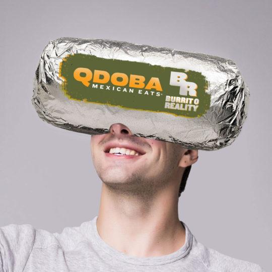 Qdoba Social Burrito Head