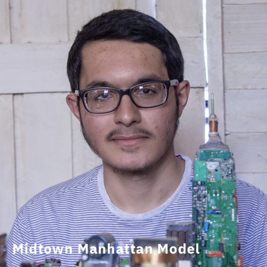 The Many Google Midtown Manhattan Model