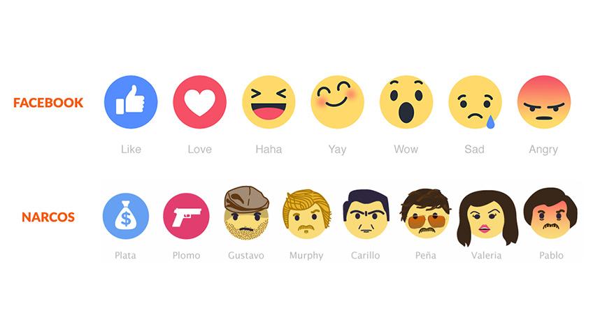 narcos emojis