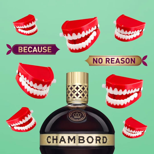 Chambord social fun animations